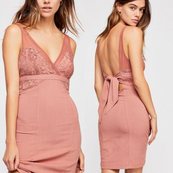 a0124fa08d Free People Dresses | Kira Bodycon Slip Dress Size Xs Bnwt | Poshmark